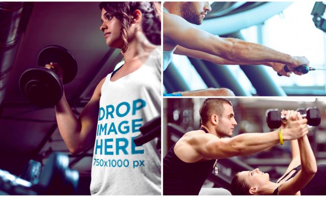 Rutina de ejercicios fáciles de pecho y bíceps para principiantes