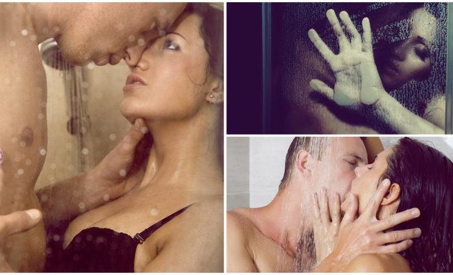 Una rutina sexy en la regadera para encender la pasión de tu pareja