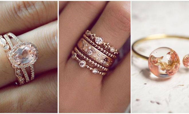 ¡Los anillos de compromiso en rose gold más hermosos del mundo!