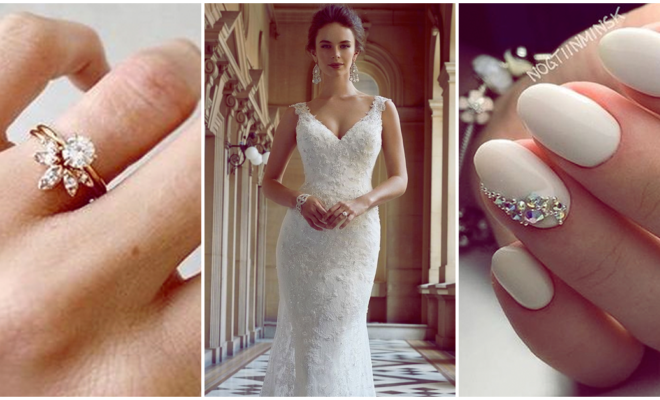 Divinas manicuras que amarán las futuras novias