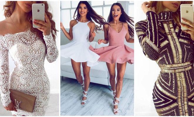Los vestidos de fiesta cortos más sexys, ¡me encantan!