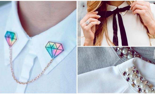 Collares y accesorios para los cuellos de tus blusas, ¡te encantarán!