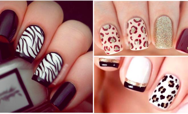¡Manicure con animal print sexy y elegante!