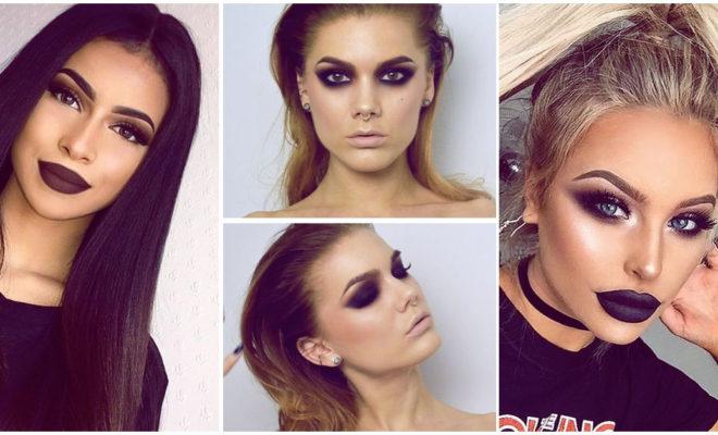 Maquillaje super oscuro: ¡cuándo sí y cuándo no!