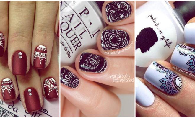 Mandalas en tus uñas, los diseños que debes intentar ¡ya!