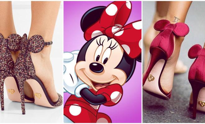 Conoce los stilettos de Minnie Mouse, lo más trendy de la moda