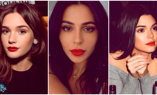 La guía perfecta para usar un lipstick rojo