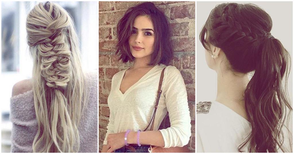 Rápido y fácil peinados para clases Fotos de cortes de pelo tendencias - Peinados para el primer día de clases, no sabrás cuál ...