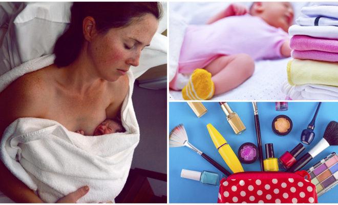 Todo lo que necesitas llevar cuando vas a dar a luz