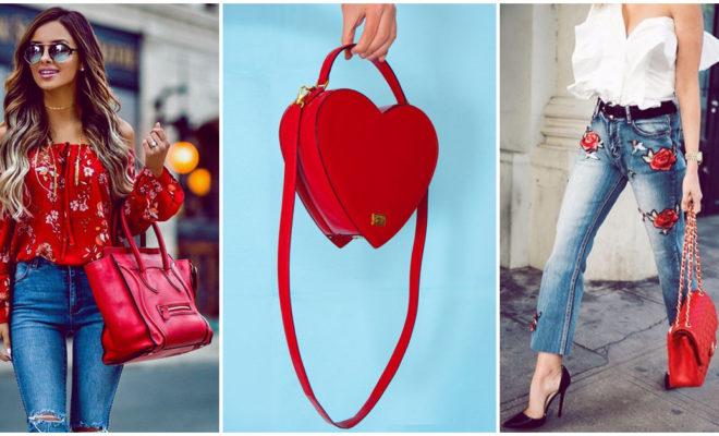 Bolsos rojos, el mejor accesorio para llevar a todos lados