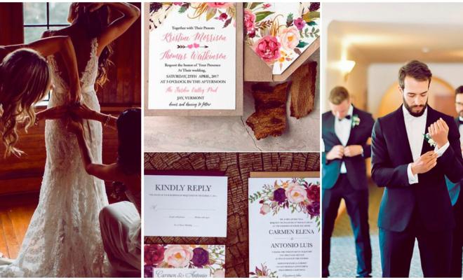 Cómo escoger las invitaciones de tu boda