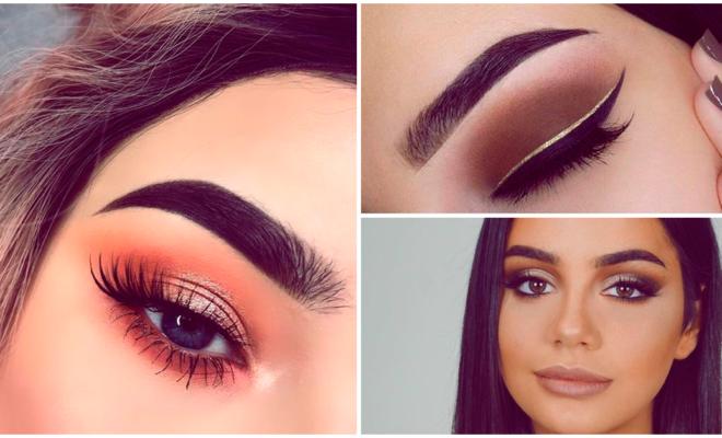 De cejas delgadas a gruesas solo con makeup