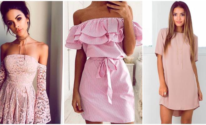Los vestidos rosas más femeninos para las chicas románticas