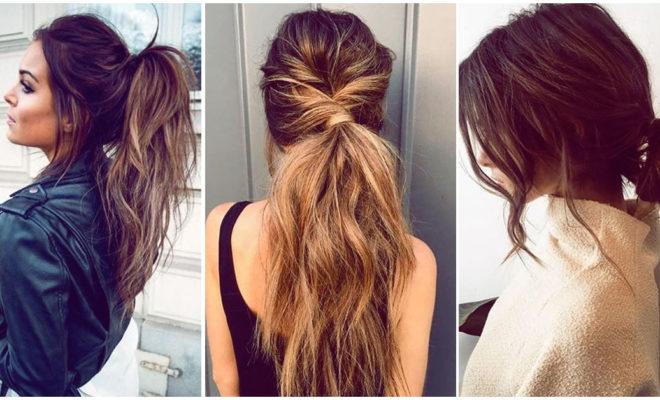 Peinados que te ayudarán a disimular que no lavaste tu melena