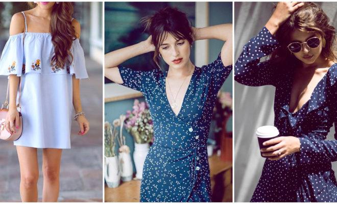 Vestidos azules que puedes usar para cada ocasión