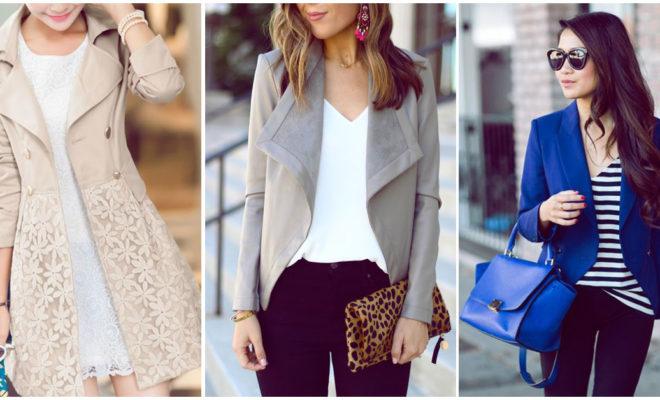 Diferentes formas de usar un blazer para una cita