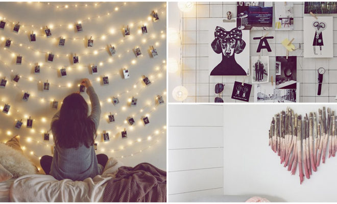 Ideas muy originales para decorar las paredes de tu cuarto