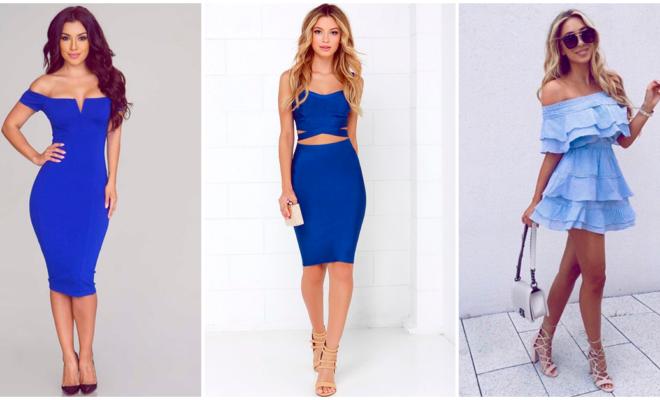 Preciosos vestidos azules para cada ocasión, ¡los vas a amar!