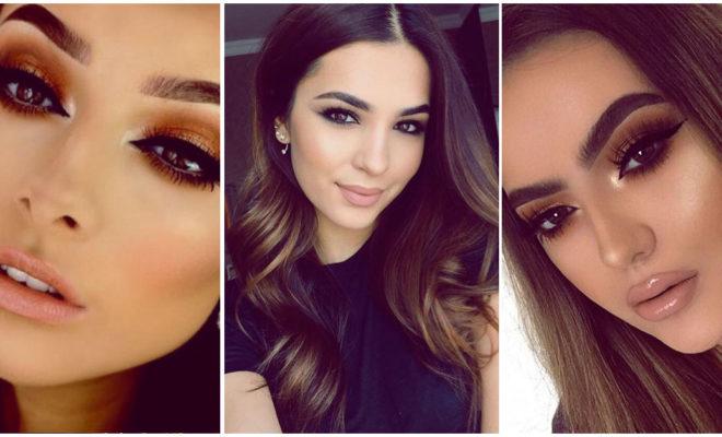 Makeups para las chicas con ojos muy oscuros