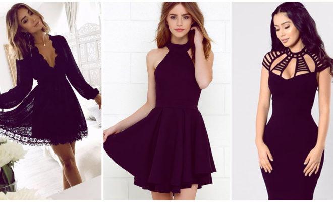 Vestidos negros, ¿cómo los combino?