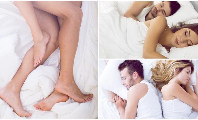 La posición en la que duermes con tu pareja dice mucho de tu relación
