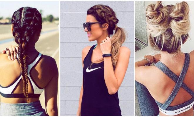 Peinados que puedes hacerte para ir al gym sin arruinar tu melena