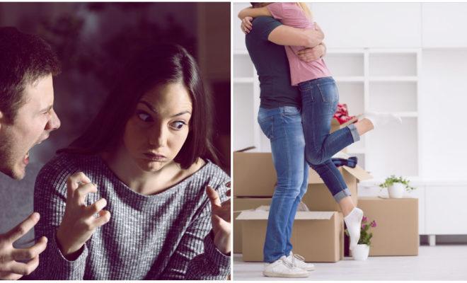 4 peleas que todas las parejas tienen cuando compran su primer hogar