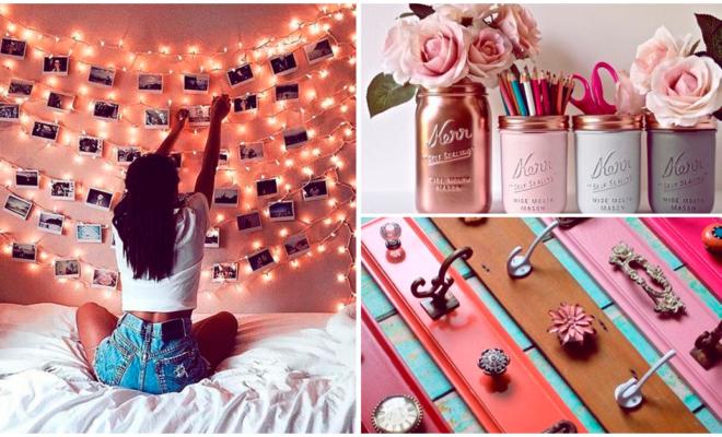 Decoración DIY para tu cuarto si eres una chica romántica