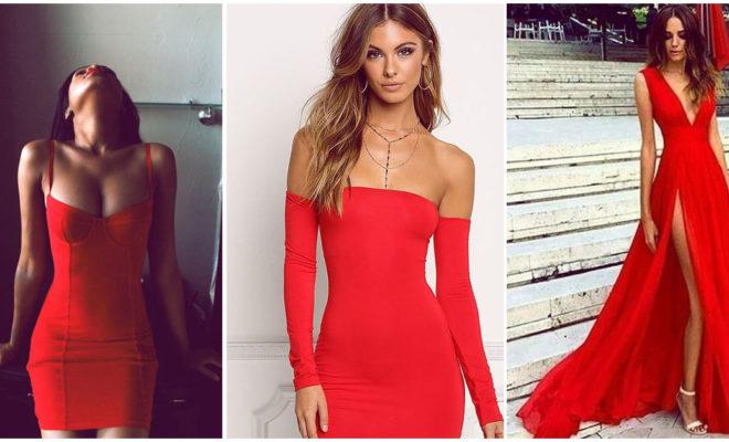 Vestidos rojos divinos para sentirte super sexy