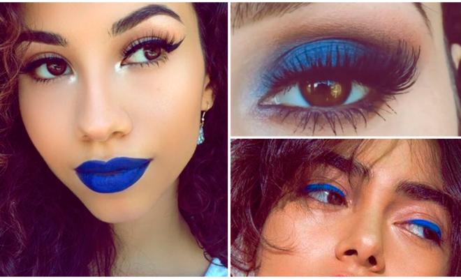 Maquillaje en tonos azules, ¿te atreves?