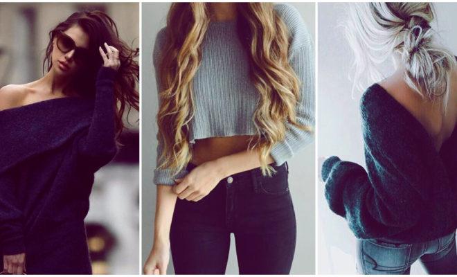 Suéteres muy sexys para la temporada de frío
