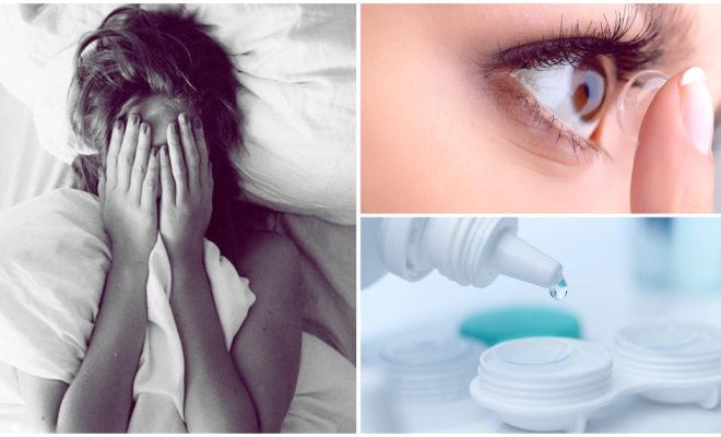 ¿Por qué debes quitarte los lentes de contacto antes de dormir?