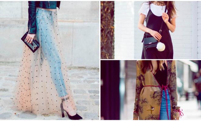Aprenda a usar el look prenda sobre prenda