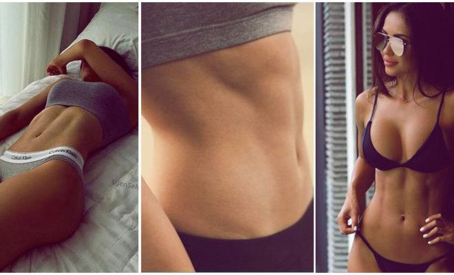 Rutinas fáciles para marcar tu abdomen, ¿lista?