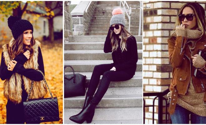 Prendas a la moda que puedes usar para estar guapa y calientita