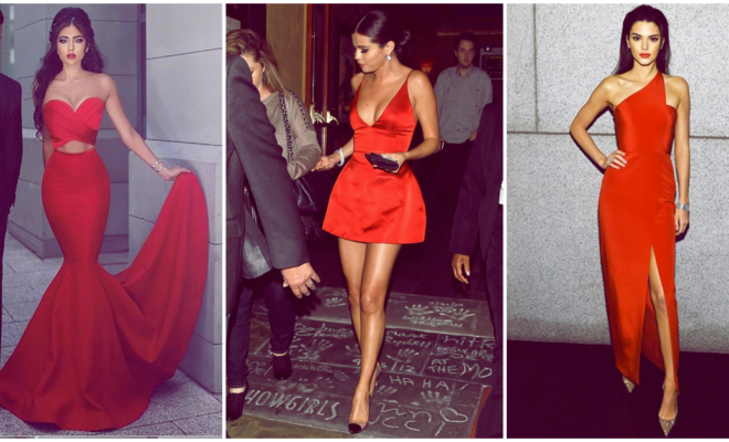 Vestidos rojos irresistibles con los que tu chico no te dirá que no 💃