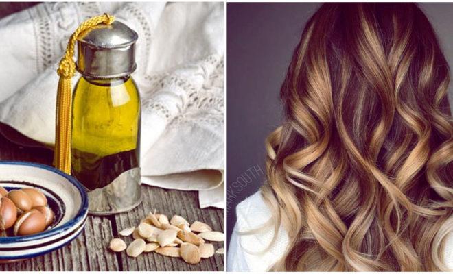 El aceite de argán salvó mi cabello decolorado