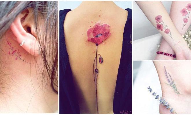 Tatuajes femeninos llenos de color que vas a adorar