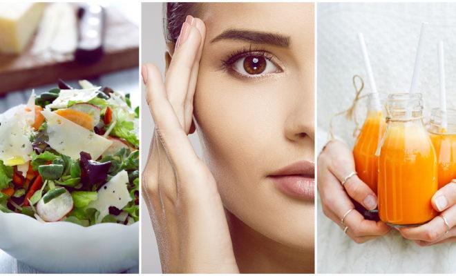 La lista de alimentos que favorecen la elasticidad de la piel