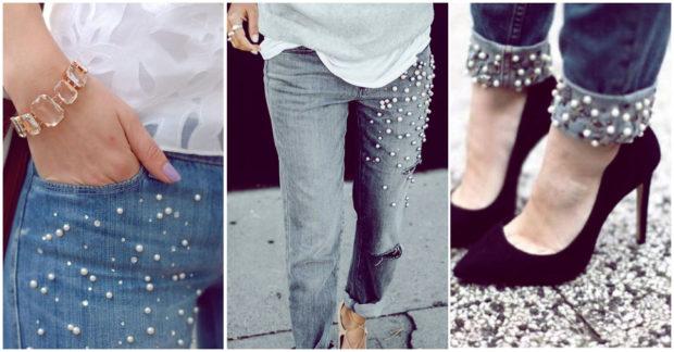 Unete A La Moda De Las Prendas Con Perlitas Puedes Hacerlas En Casa Yo Amo Los Zapatos