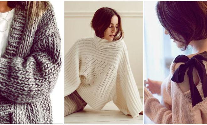 Suéteres con mucho estilo para estar calientita y a la moda