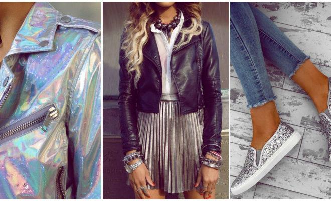 Prendas brillantes a la moda, ¿cómo usarlas?