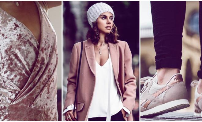 Las mejores prendas en color rose gold que debes tener
