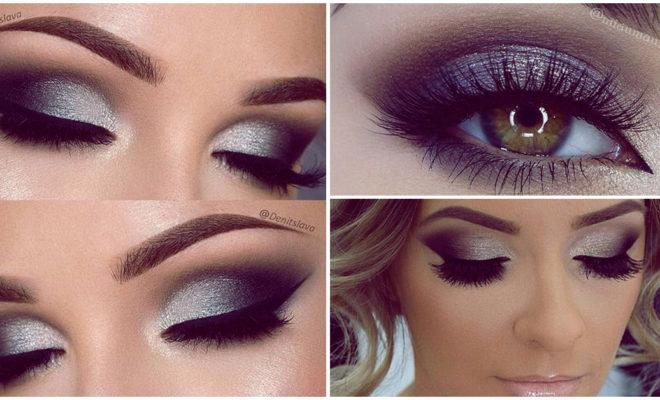 Makeup plateado, ¡ideal para lucir guapísima!
