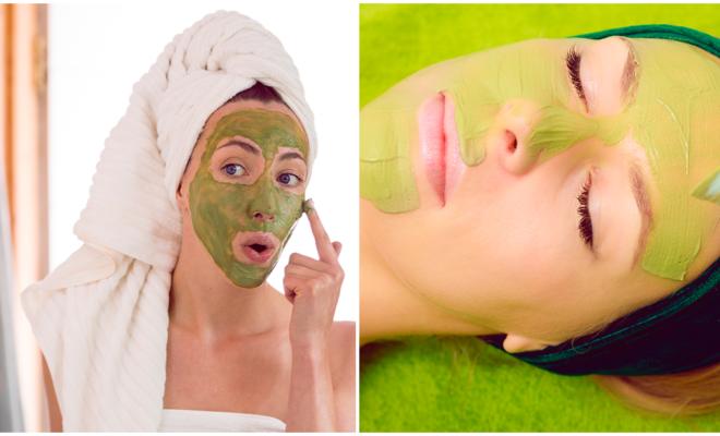 Mascarilla verde para eliminar las imperfecciones de tu rostro