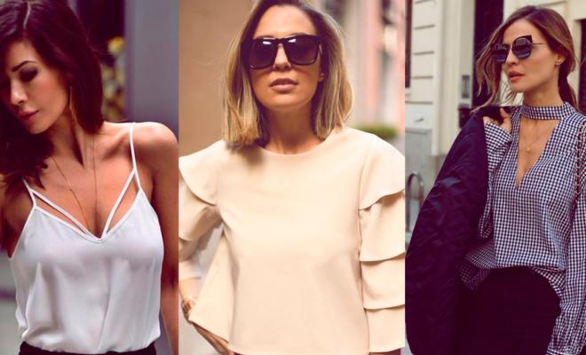 5 blusas sofisticadas para  las mujeres de 40