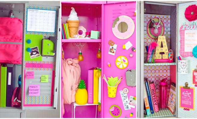 Ideas para decorar tu locker de la escuela