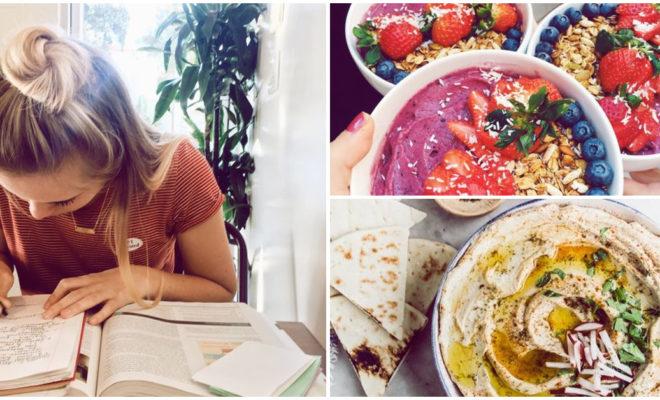 ¿Cómo puedo comer mejor si paso todo el día en la uni?