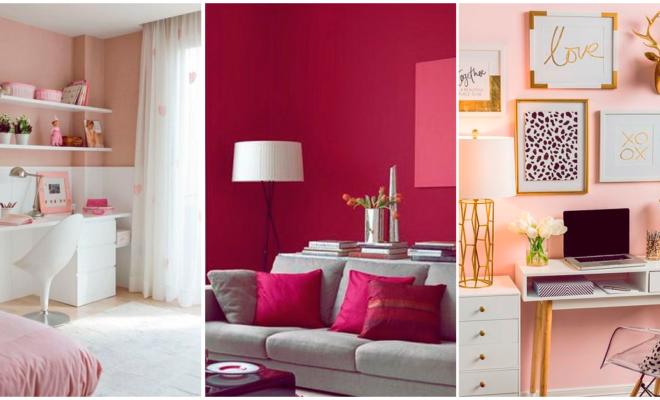 Decora tu habitación en color rosa para consentirte