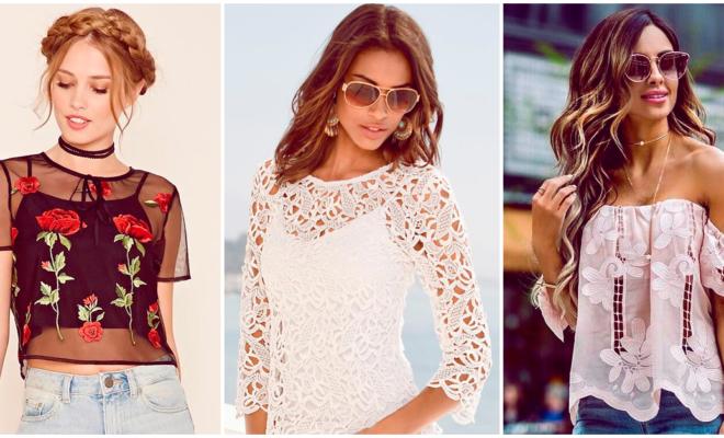 Tipos de blusas que no pueden faltar en tu clóset